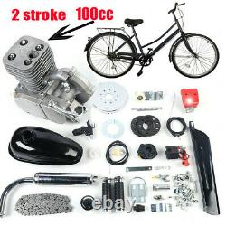 Full Set 100CC Bicycle Motorized 2-Stroke Gas Petrol Bike Engine Motor Kit