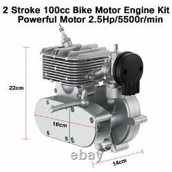 Full Set! 100cc Bike Bicycle Motorized 2 Stroke Petrol Gas Motor Engine Kit Set