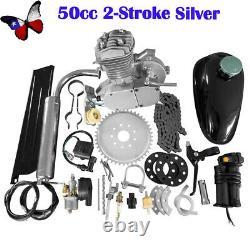 Full Set 50cc Bike Bicycle Motorized 2 Stroke Petrol Gas Motor Engine Kit Set US