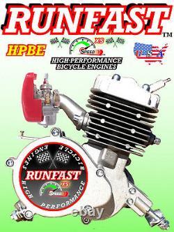 HIGH PERFORMANCE 2-STROKE 80cc MOTORIZED BIKE ENGINE ONLY FOR MOTORIZED BIKE KIT
