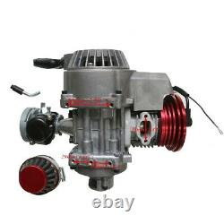 HP Racing 47cc 49CC 2-STROKE ENGINE MOTOR POCKET MINI BIKE SCOOTER ATV Quad Kart