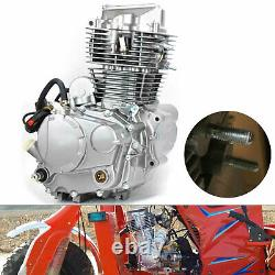 Heavy Duty 350cc Motorcycle Engine Water-cooled Single Cylinder 4 Stroke Motor