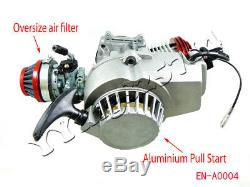 High Performance Engine Motor for 47 49cc mini ATV 2-stroke Scooter pocket bike