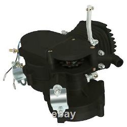 Hot Sale 80cc 2 Stroke Motor Engine Kit Gas for Motorized Bicycle Bike Black New