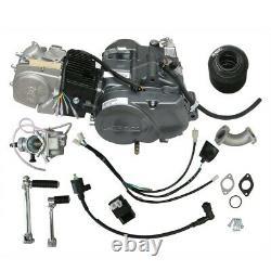 LIFAN 140cc Manual Clutch 4 Stroke 4 Gear Engine Motor with Kits For PIT DIRT BIKE