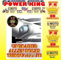 MONSTER POWER 2-STROKE 66cc/80cc MOTORIZED BIKE ENGINE ONLY For KITS AND BICYCLE
