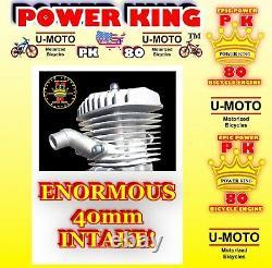 MOST POWERFUL 2-STROKE 66cc/80cc MOTORIZED BIKE ENGINE ONLY FOR KITS DIY BIKES