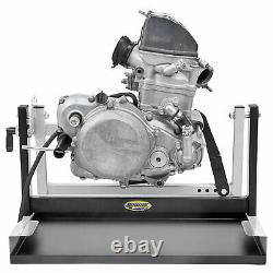 Motorsport Products MX Motorcycle Engine Stand Motor Repair / Rebuild 2 /4stroke