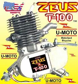 NEW 80cc/100cc 2-STROKE Motorized Bike ENGINE ONLY FOR KITS AND BICYCLE + BONUS