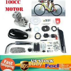 NEW Bicycle Motorized 100CC 2-Stroke Gas Petrol Bike Engine Motor Kit Full Set
