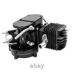 New 80cc Bike 2 Stroke Gas Engine Motor Parts Kit DIY Motorized Bicycle Black