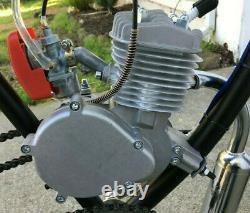 New PK80 80cc/66cc Motorized 2 Stroke Petrol Gas Bike Motor Engine Only US