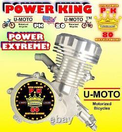 POWER 66cc/80cc HIGH PERFORMANCE 2-STROKE MOTORIZED BIKE ENGINE ONLY FOR KITS