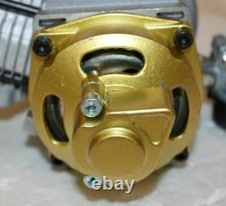 Performance Racing Yellow 49cc 2 stroke Engine Motor Pocket Quad Dirt Bike ATV