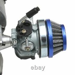 Racing 2 Stroke 47 49cc Engine Motor Kit Exhaust for Scooter Pocket Bike Chopper