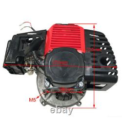 Racing 50cc 2 Stroke GAS Chopper Engine for Go Kart Motorized Bike Moped ATV US
