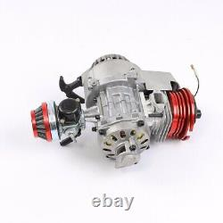 Racing Big Bore 49cc 50cc Engine Motor + 2 Stroke Transmission Pocket Quad Bike