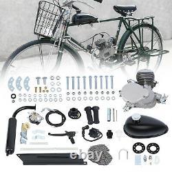 Ridgeyard 2 Stroke 80cc Bike Cycling Motorized Bicycle Engine Motor Kit Muffler