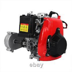 Ridgeyard 4-Stroke 49CC Gas Petrol Kit Motorized Bicycle Bike Engine Motor