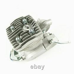 Silver 80cc 2-Stroke Engine ONLY for Motorised Bicycle Bike Gas Powered H/P