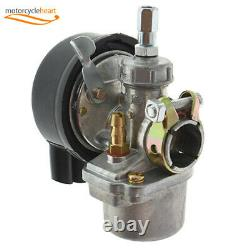Silver 80cc 2Stroke Cycle Bike Engine Motor Petrol Gas Kit for Motorized Bicycle