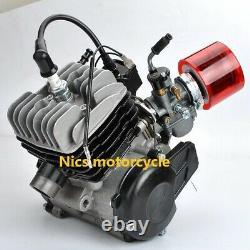 Suitable for 50 2-stroke 49CC foot start engine Mini ATV Dirt Pit Cross Bike