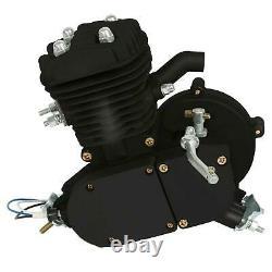 Updated 80cc Bike Bicycle Motorized 2 Stroke Petrol Gas Motor Engine Kits Black