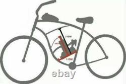 Upgraded! 80cc Motorised Bicycle Push Bike 2 Stroke Motor Engine Kit Petrol