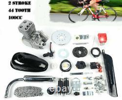 100cc 2-stroke Vélo Vélo Essence Moteur Motorisé Moteur Kit Complet