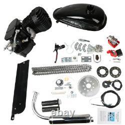 100cc Bicycle Motor Kit Bike Motorized 2 Stroke Petrol Gas Engine Set Black États-unis
