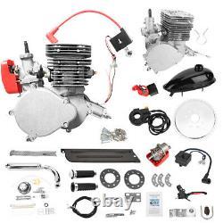 110cc 2-stroke Bicycle Motor Kit Bicycle Motorized Petrol Gas Engine Ensemble Complet