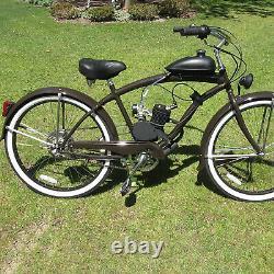 2 Avc 100cc 26 28 Kit Moteur Vélo Essence Gaz Motorisé Ensemble Modifié