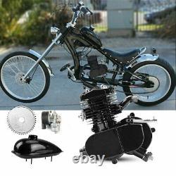 2 Stroke 80cc Vélo Vélo Vélo Motorisé Moteur Kit Silencieux Essence