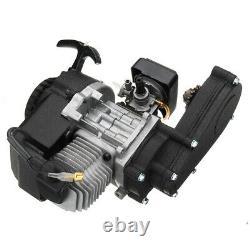 2 Stroke Engine 47cc 49cc Mini Moto Quad Bike Pull Start Starter Avec Transfer Us