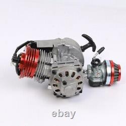 2 Stroke HP Racing Moteur Moteur 49cc 47cc 50cc Pocket / Quad / Dirt Bike Pull Démarrer
