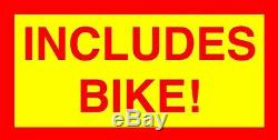 2 Temps 66cc / 80c Motorisé Vélo Kit Kit Moteur Avec 20 Low Rider Vélo