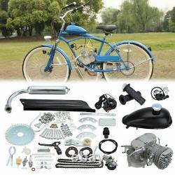 2 Temps De Vélo Motorisé Vélo Moteur Vélo Kit Moteur Silencieux Essence Gaz