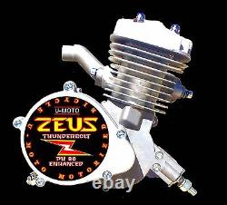2 Temps Diy 66cc / 80cc Motorisé Vélo Kit Moteur Performance Pk80
