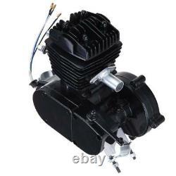2-stroke 80cc Bike Cycling Motorized Bicycle Engine Motor Kit Muffler Essence Gas