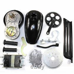 4-stroke 49cc Essence Motorized Bike Engine Motor Kit Scooter Gear Belt Drive