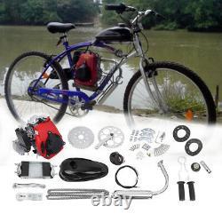 4-stroke 49cc Gaz Essence Motorisé Vélo Bicycle Moteur Kit Moteur Convient 26or 28