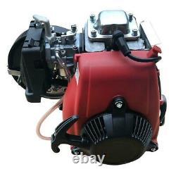 4-stroke 53cc Gas Petrol Motorized Bicycle Bike Engine Motor Kit Belt Gear Nouveau