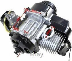 47cc 49 50cc 2 Stroke Motor Pull Start Engine Scooter Atv Pocket Pit Dirt Bike