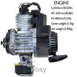 49cc 2 Course Pull Start Engine Motor Kit Mini Pocket Rocket Quad Dirt Bike Vtt