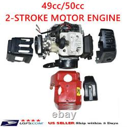 49cc 2-stroke Racing Motor Engine Pour Mini Pocket Bike Atv Go Kart Scooter