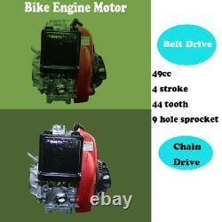 49cc 4 Temps De Vélo Moteur Traction Démarrage Essence Kit De Conversion Pour Les Vélos Adultes