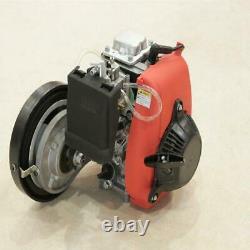 49cc 4-stroke 142f Gaz Motorisé Moteur De Vélo Bicycle Motor Kit Chain Drive Nouveau
