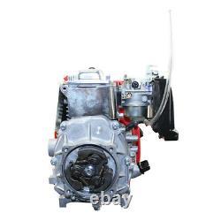 49cc 4-stroke Gas Motorized Bicycle Bike Engine Motor Kit Chain Drive Refroidi À L'air