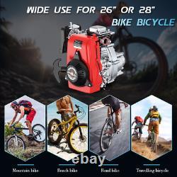 49cc 4-stroke Vélo Moteur Moteur Kit Essence Essence Diy Scooter Motorisé Vtt