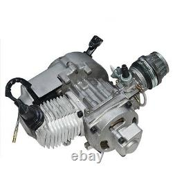 49cc 50cc 2 Stroke Engine Mini Pocket Pit Bike Scooter Atv Quad + Parts Us